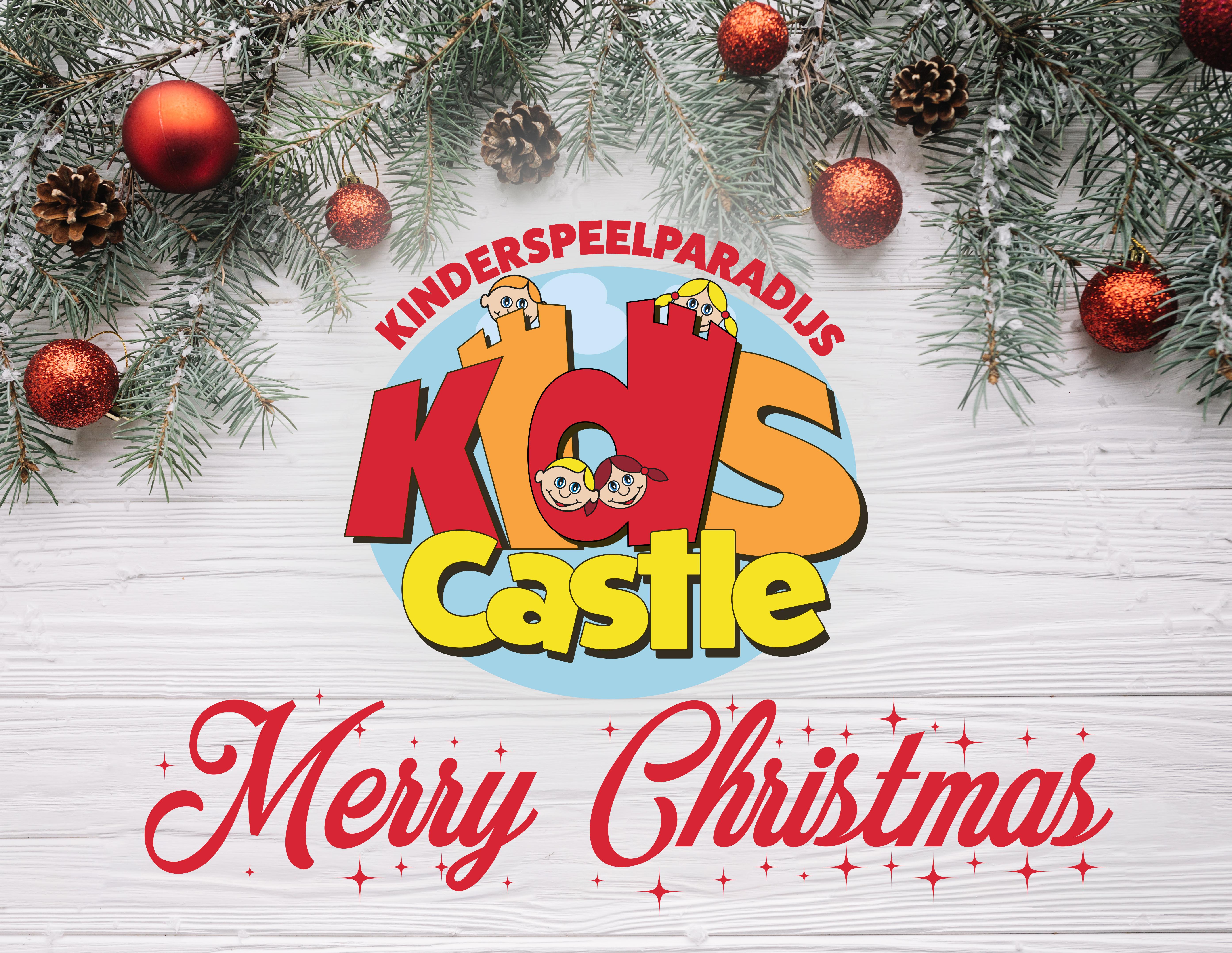 kerstplaatje kids castle